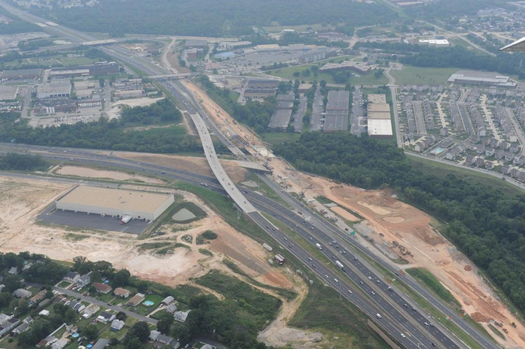 I-95/I-895 Interchange in Baltimore City & County (I95 Express Toll Lanes)