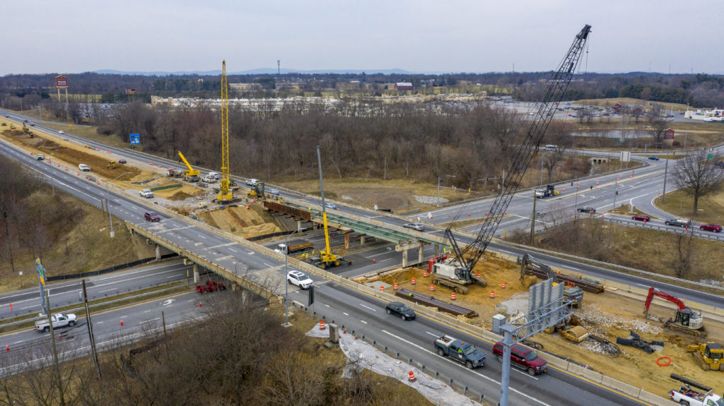 I-70 over 65 Widen and Rehab of Dual Bridge